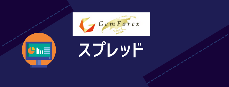GemForexのスプレッド