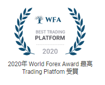 最高 Trading Platform賞受賞