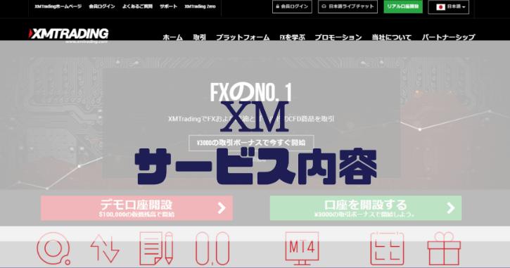 XMのサービス内容