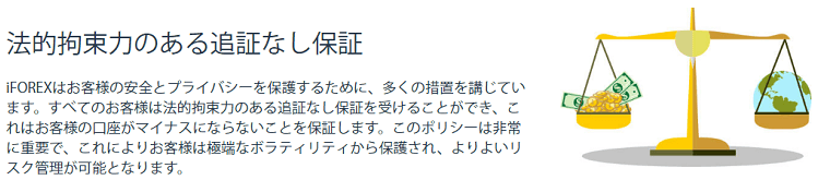 iFOREXのゼロカットシステム(追証なし)