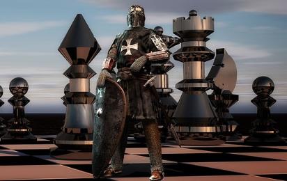 鎧を纏った騎士